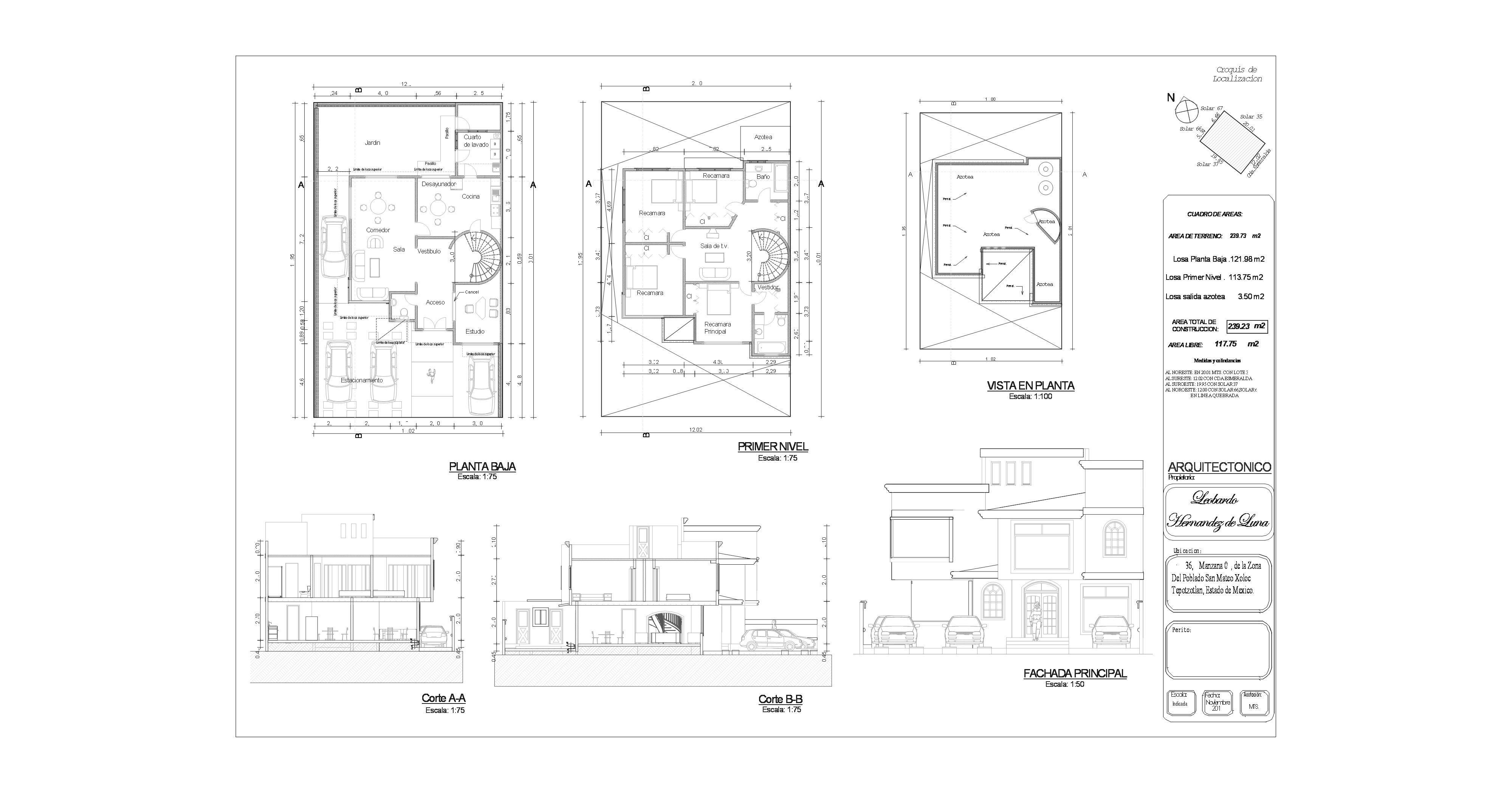planos arquitectonicos imagui